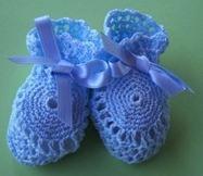 Patucos bota azul - 70605001