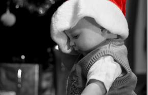 Navidad 2009 con el bebé
