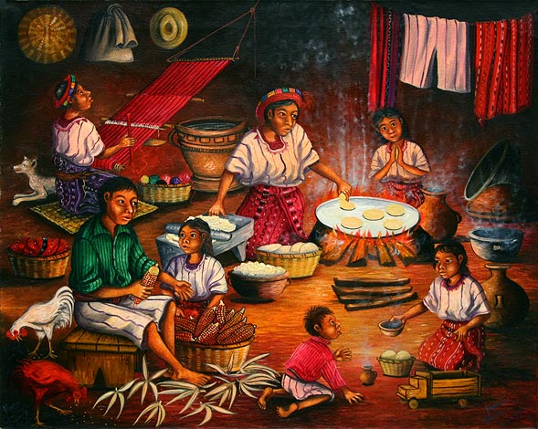 calendario-maya-del-embarazo-tabla-maya-la-mujer-maya