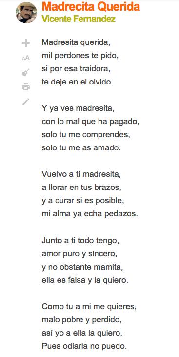Canciones para el Día de la Madre 2019 | Letras - Embarazo10.com