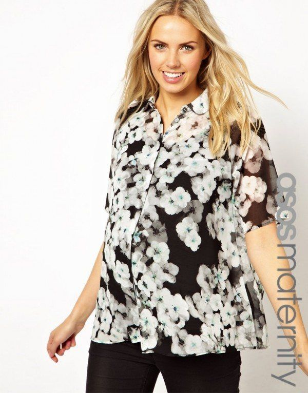 catalogo-asos-premama-2014-camisa-flores