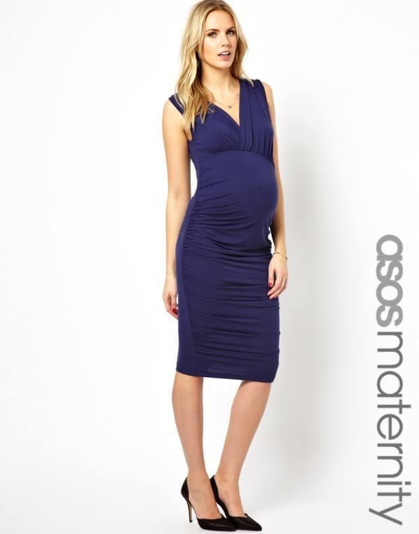 catalogo-asos-premama-2014-vestido-ajustado