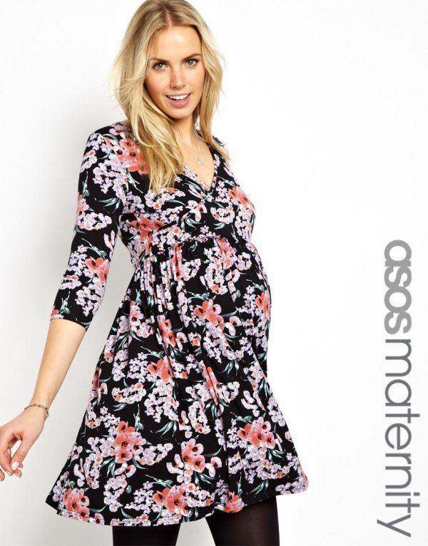 catalogo-asos-premama-2014-vestido-flores