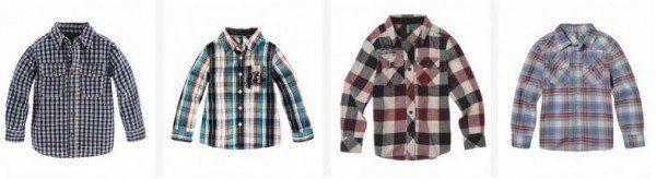 catalogo-benetton-niños-2014-camisa-cuadros