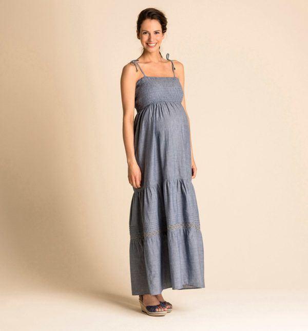 catalogo-cya-premama-primavera-verano-2014-vestido-largo-denim