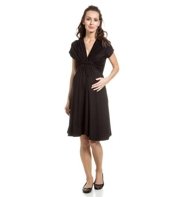 catalogo-cya-premama-primavera-verano-2014-vestido-negro