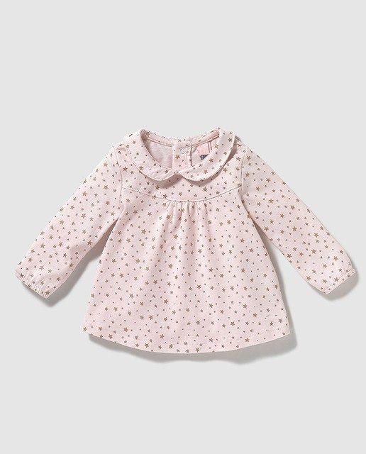 catalogo-de-bebes-el-corte-ingles-otoño-invierno-2017-niñas-camisa.cuello-redondo