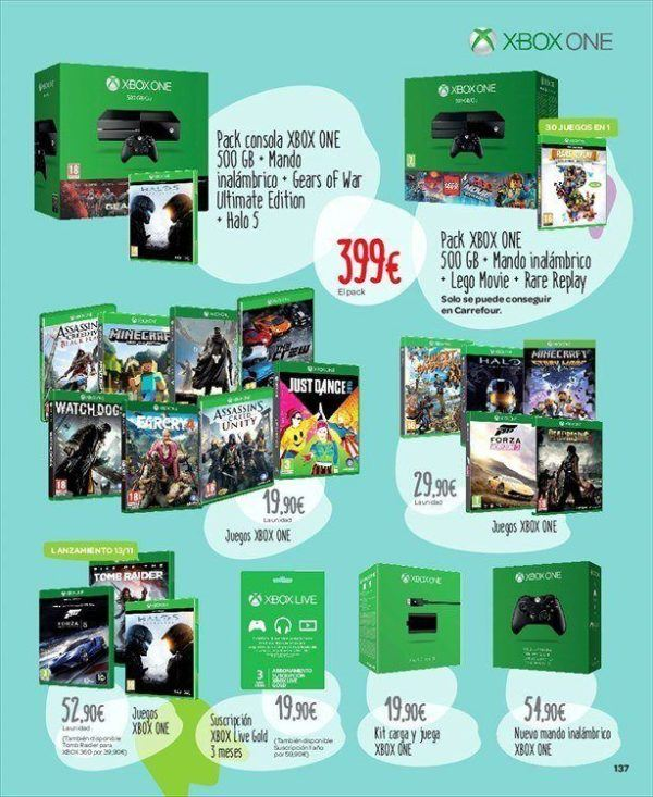 catalogo-de-juguetes-carrefour-navidad-2015-los-mas-destacados-videojuegos