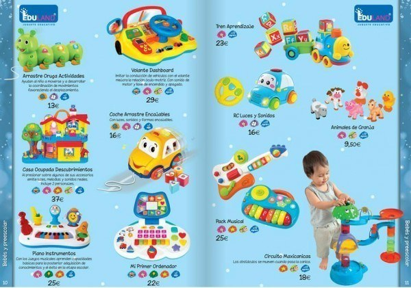 Juguetes para bebé del Catálogo de Juguetes Navidad 2015 El Corte Inglés