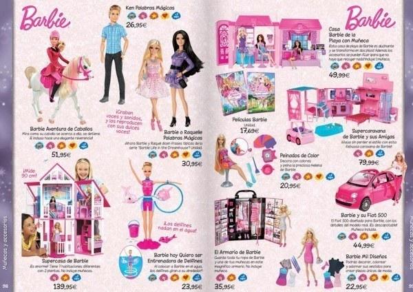 Dibujos De Barbie De Navidad.Catalogo De Juguetes El Corte Ingles 2019 Embarazo10 Com