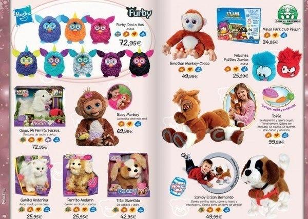 Cat logo de juguetes navidad 2015 el corte ingl s - Catalogo regalos corte ingles ...