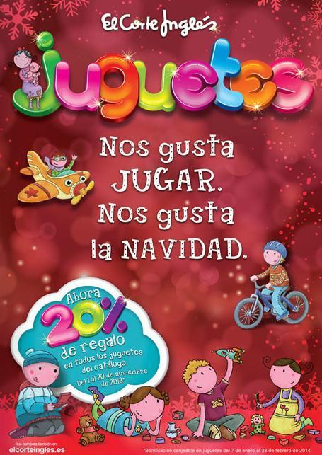 Cat logo de juguetes navidad 2015 el corte ingl s for El corte ingles navidad