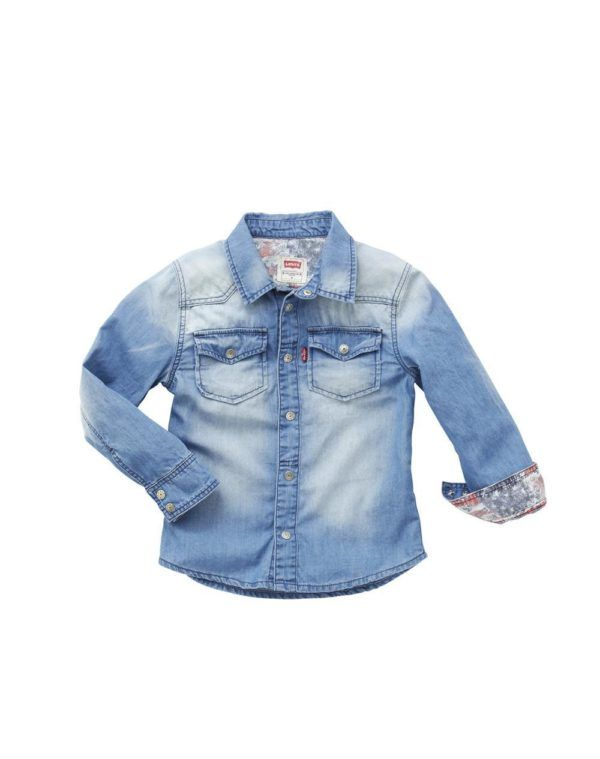 catalogo-el-corte-ingles-ninos-y-ninas-primavera-verano-2014-camisa-denim-niño