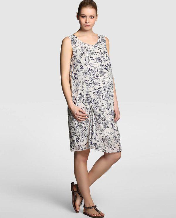 catalogo-el-corte-ingles-premama-primavera-verano-2015-vestido-largo-estampado