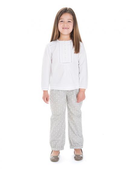 catalogo-gocco-ninos-y-ninas-primavera-verano-2014-blusa-blanca-pantalon