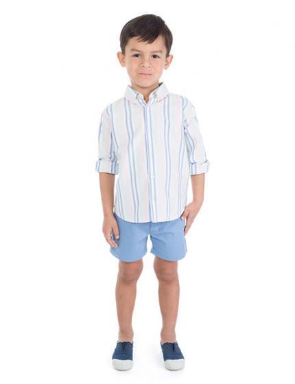 catalogo-gocco-ninos-y-ninas-primavera-verano-2014-camisa-rayas-bermudas