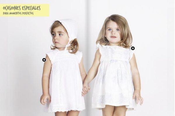 Vestido blanco gocco