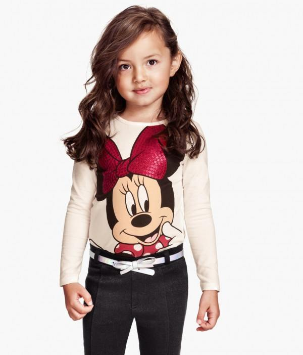 catalogo-hm-ninos-2014-camiseta-minnie