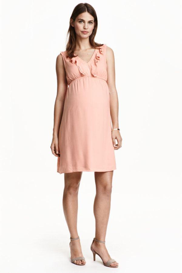 catalogo-hm-premama-2016-primavera-verano-vestido