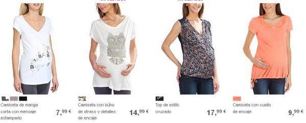 catalogo-kiabi-premama-primavera-verano-2015-camisetas-variadas
