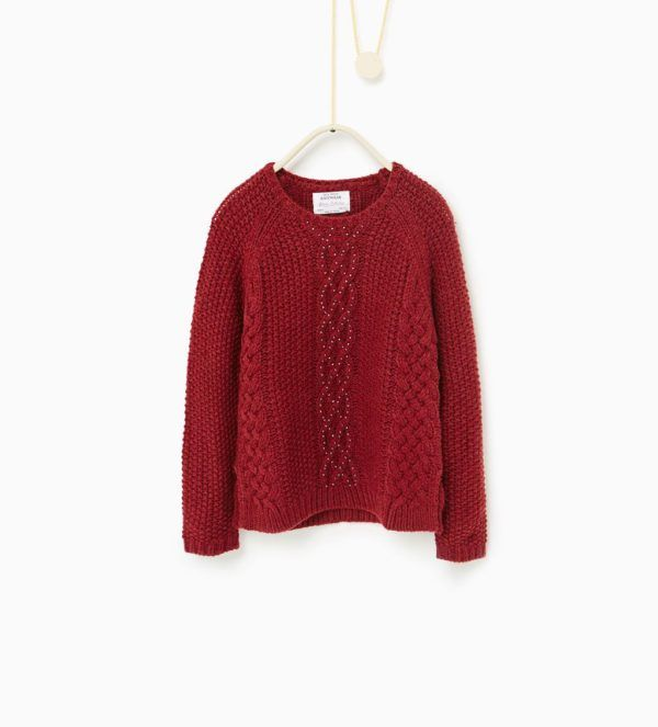 catalogo-zara-niños-otoño-invierno-2017-jersey-rojo-cruzado