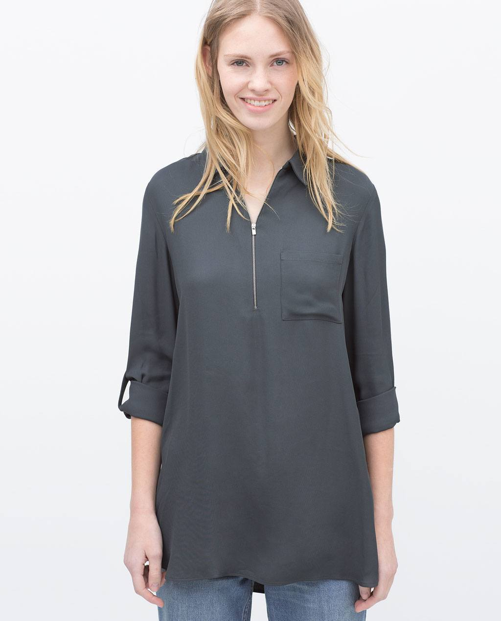 Catalogo zara premama primavera verano 2015 camisa - Catalogo de zara primavera verano 2015 ...