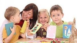 Manualidades niños Navidad 2010 | decoración árbol fácil vídeo