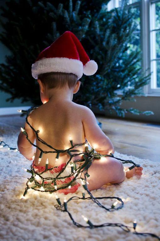 como-celebrar-la-navidad-con-el-bebe-luces