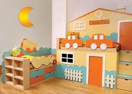 Como decorar un dormitorio para niños 7