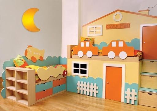 Consejos para decorar una habitaci n para ni os - Pintar habitaciones infantiles ...
