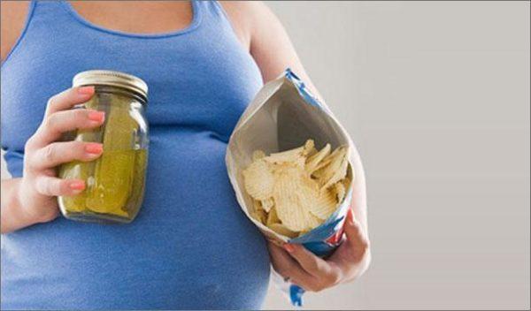 cuando-no-hay-antojos-durante-el-embarazo-problema