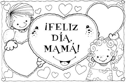 Dibujos para mama | Día de la madre 2015 - Embarazo10.com