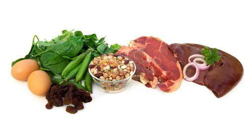 dieta-para-embarazadas-vitaminas-y-minerales-hierro