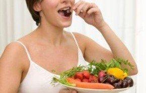 La alimentación correcta de la embarazada