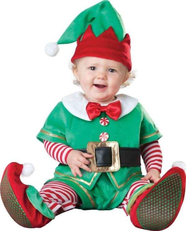 Disfraces De Navidad Para Bebes Y Ninos Embarazo10com - Disfraces-de-nios-de-navidad