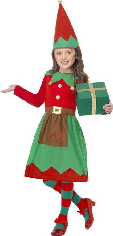disfraces-de-duende-de-navidad-para-bebes-y-ninos-para-chicas