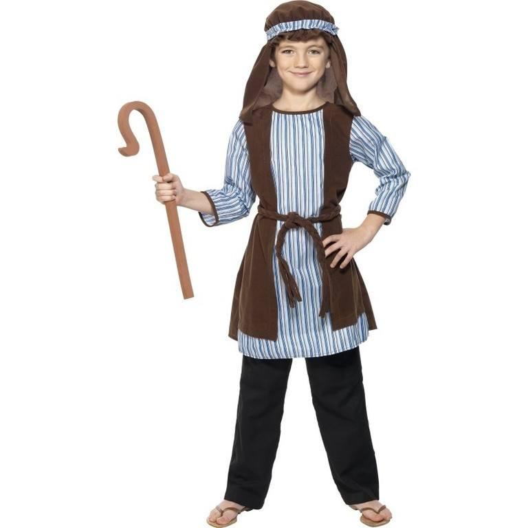disfraces-de-pastor-de-navidad-para-bebes-y-ninos-con-tunica