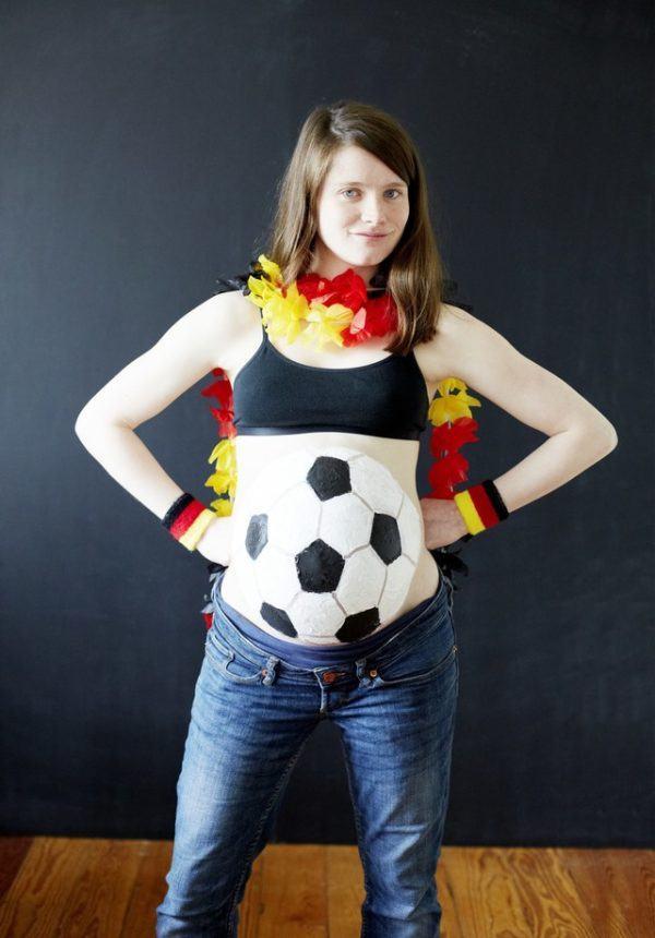 disfraces-originales-para-embarazadas-carnaval-2016-disfraz-de-pelota