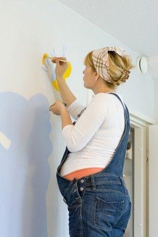 Pintar en el embarazo - Embarazo10.com