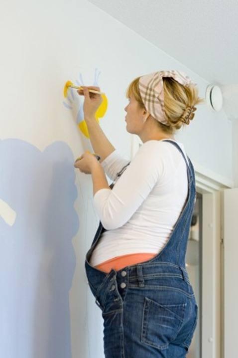Pintar en el embarazo - Ideas para pintar una habitacion de nino ...
