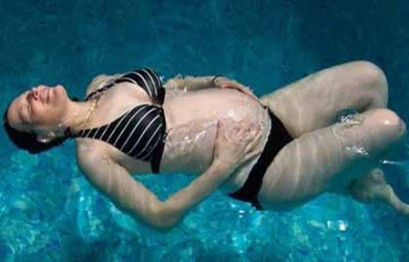 embarazada-agua