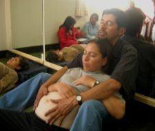 Estimulación prenatal a través tacto