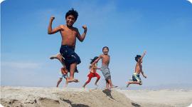 Los Niños activos; tienen más facilidad para conciliar el sueño