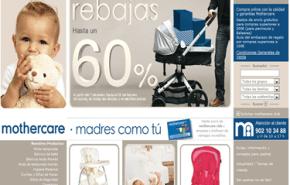 Mothercare rebajas 60%