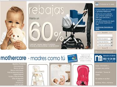 Pulsa para acceder al catalogo Mothercare