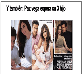 Paz Vega espera su 3 hijo, pulsa para mas informacion