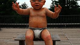 Bebés más grandes, pero menos sanos