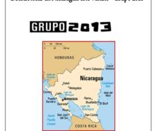 Bibliotecas en Nicaragua | Proyecto solidario Grupo 2013
