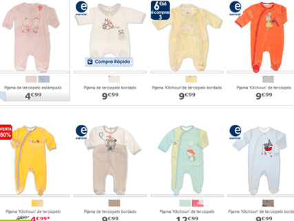 Rebajas Bebe Verano 2015 | Kiabi pijama