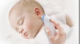 Termometro de oido Vicks para bebes